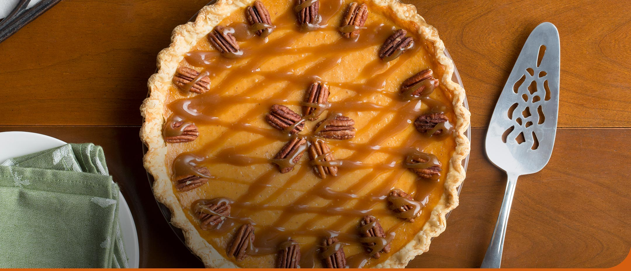 Classic Sweet Potato Pie - Try the easy Praline Pecan Topping for a twist on your classic favorite. Bake it!
